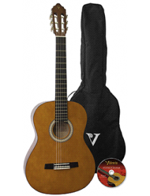 Valencia 4/4 Classic Guitar Pack