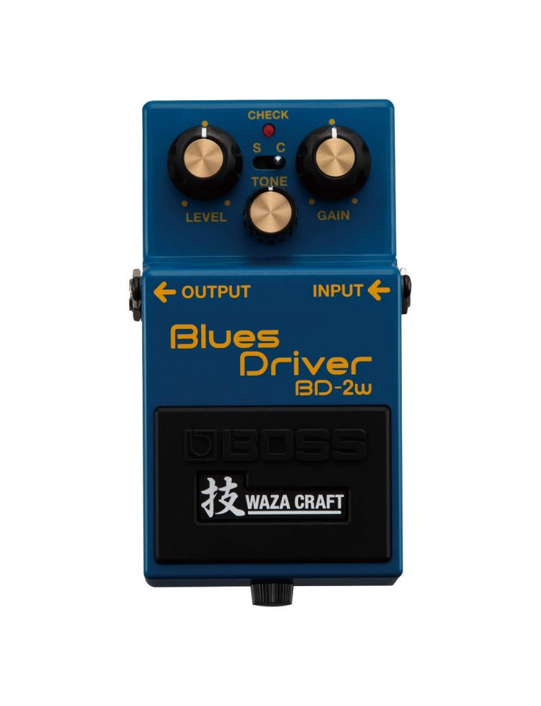 boss bd 2w blues driver waza craft pedal