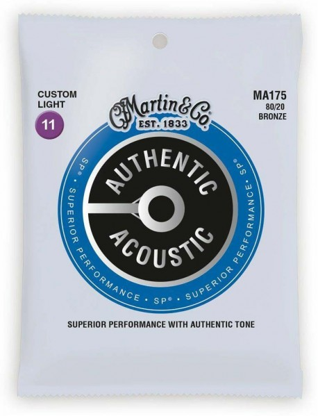 Martin Strings Authentic Acoustic MA 175 Strings Triple Pack