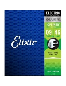 ELIXIR NEW OPTIWEB ELECTRIC STRINGS