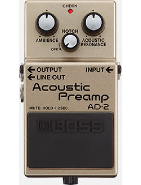 Boss AD 2 Acoustic Pre-amp