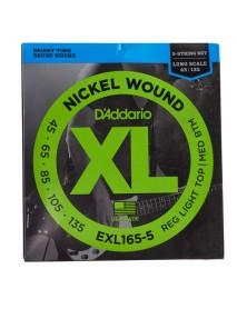 D'addario EXL165-5  5-string bass