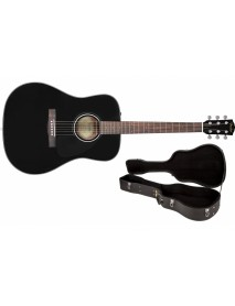 Fender CD-60 black with hard case