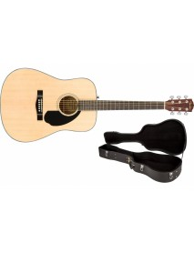 Fender CD-60 Natural with hard case