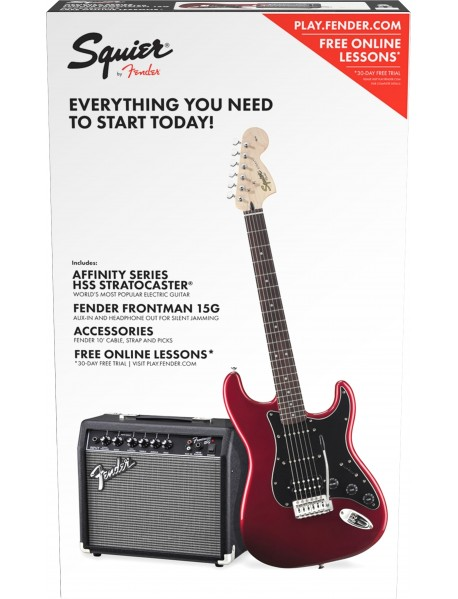 Squier Affinity HSS Strat 15G Electric starter pack (CAR)