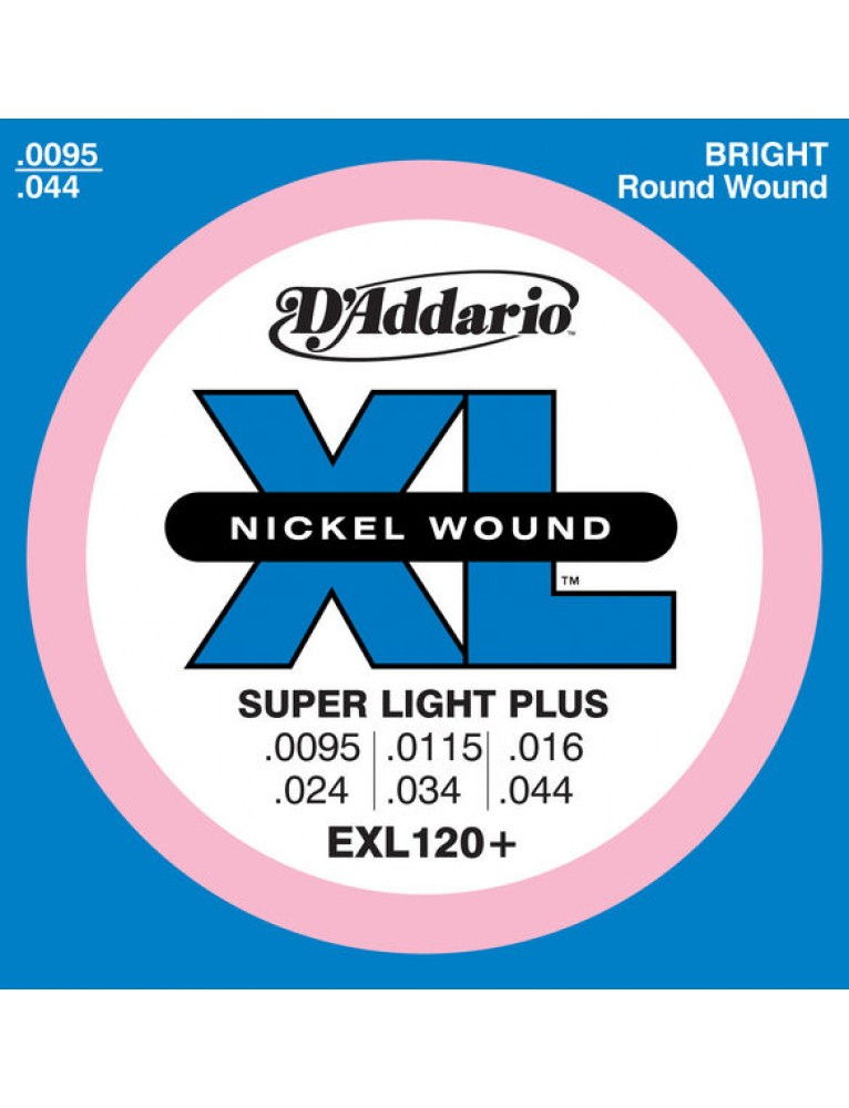 D/'addario EXL120 Super Light 0095-044