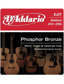 D'Addario Phosphor Bronze Acoustic 13's Medium