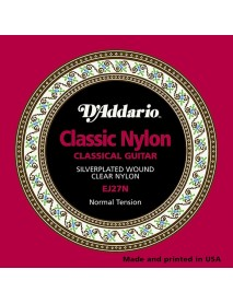 D'Addario EJ 27 N Classical Normal Tension