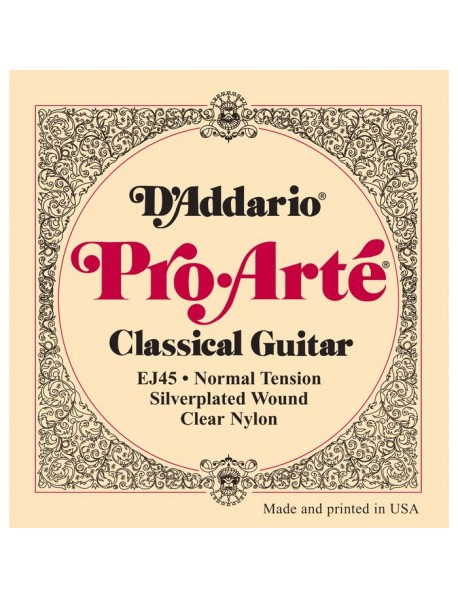 D'Addario EJ 45 Classical Normal Tension