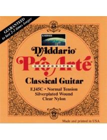 D'Addario EJ 45C Classical Composites Normal Tension