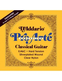 D'Addario EJ 46C Classical Composites Hard Tension