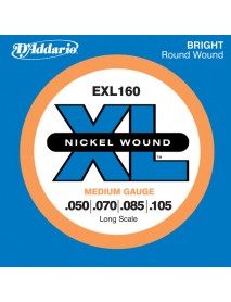 D'Addario EXL 160 Bass 50-105 Medium