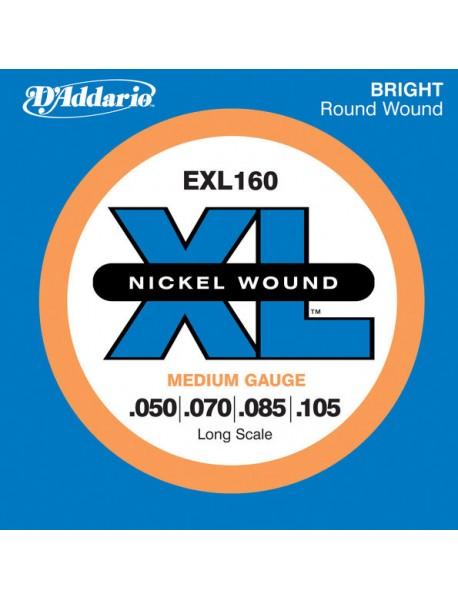 D'Addario EXL 160 Bass 50-105 Medium