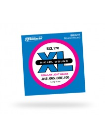 D'Addario EXL 170 Bass 45-105 Regular Light