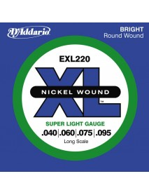 D'Addario EXL 220 Bass 40-95 Super Light