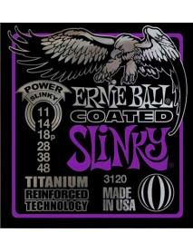 Ernie Ball Titanium Coated Power Slinky 11's