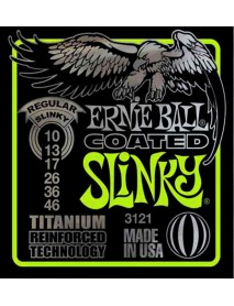 Ernie Ball Titanium Coated Regular Slinky 10's