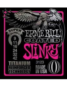 Ernie Ball Titanium Coated Super Slinky 9's