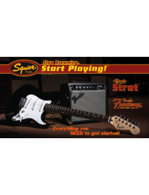 Squier Affinity Strat 10 G Electric Starter Pack