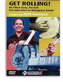 Get Rolling Introduction To Bluegrass Banjo Pete Wernick