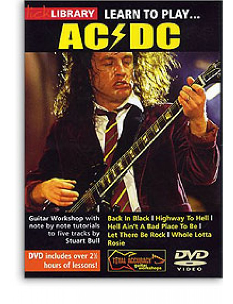 Learn to play acdc lick library