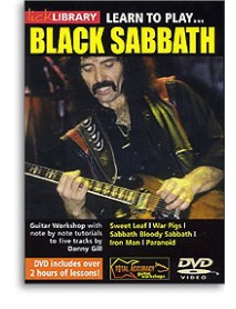 Lick Library Learn To Play Black Sabbath