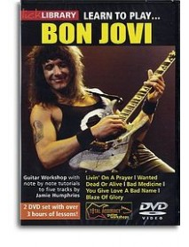 Lick Library Learn To Play Bon Jovi