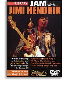 Lick Library Jam With Jimi Hendrix