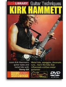 Lick Library Guitar Techniques Kirk Hammett