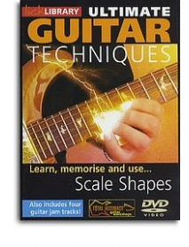 Lick library chords and scales