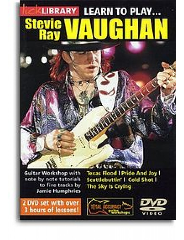 Lick library stevie vaughan