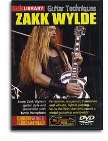 Lick Library Guitar Techniques Zakk Wylde DVD