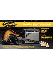Squier Affinity HSS Strat 15G Electric Starter Pack